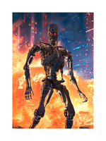 "Terminator: The Future is Not Set - SOLD OUT @ Sideshow Collectibles - Premium Art Print - 18"" x 24"" one of 13 artist proofs, unframed w embossed seal & ACTUAL signature - $250 including USA shipping"