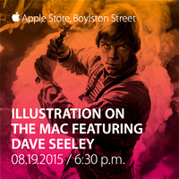 Dave Seeley at the Apple Store