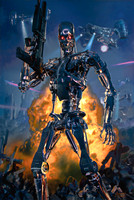 Terminator:  No Fate But What We Make - Spectrum - Sideshow Collectibles - Premium Art Print - ©2015 Studiocanal S.A.