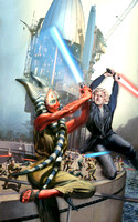 Star Wars Escape From Dagu - Done for the novel by Del Rey Books / Lucasfilm - William C. Dietz