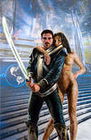 Sir Dominic Flandry: The Last Knight of Terra - Baen Books - Poul Anderson