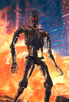 Terminator:  The Future is Not Set - Sideshow Premium Art Print