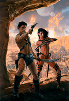 John Carter and the Princess of Mars - WORLDS OF EDGAR RICE BURROUGHS edited by Mike Resnick and Robert T Garcia - Baen Books
