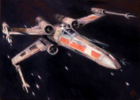 Microvisions Charity XWing