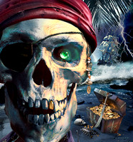 CLEARED - Pirates Of The Caribbean - Disney / Bluespark - Spectrum